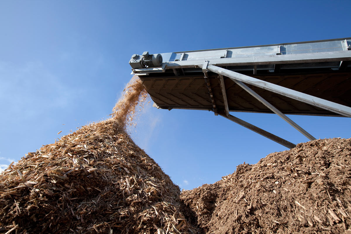 Industrial Process wood waste